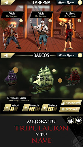 Assassin's Creed Pirates para Android
