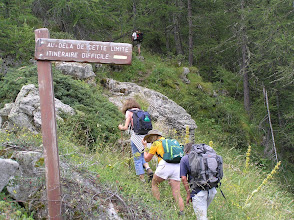 Photo: Ascension de l'aiguille d'Orcières, on vous aura prévenus !