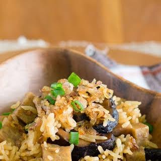 Yam Rice (Taro Rice).