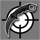 Karambit knife Live Wallpaper icon