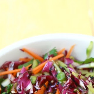 Garden Salad Coleslaw with Asian-style Dressing