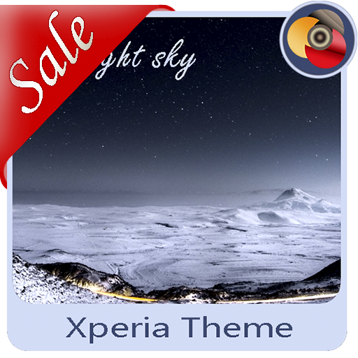 The night sky | Xperia™ Theme