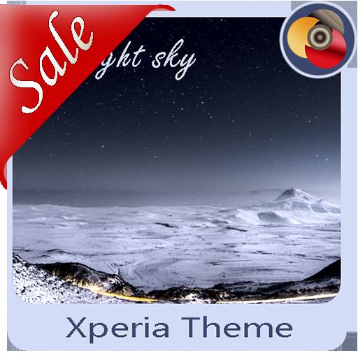 The night sky | Xperia™ Theme