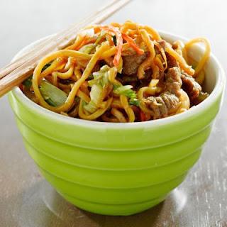 Tasty Beef Chow Mein