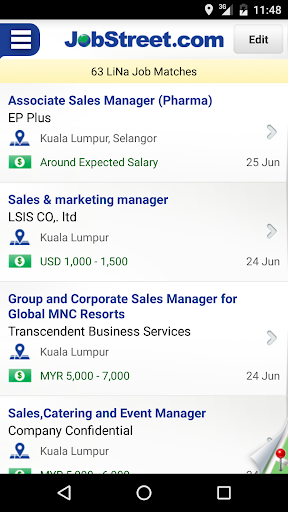 JobStreet 3.7.10 screenshots 1