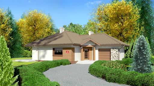 projekt domu Dom przy Bajecznej 2