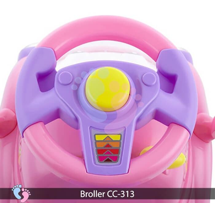 Xe chòi chân oto Broller CC 313 12