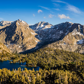 High Sierra by Evver Gonzalez - Landscapes Mountains & Hills ( landscape photography, mountains, ultralight backpacking, evver g photo, trekking, sony alpha, eastern sierra, inyo, kearsarge pass, nisi filters, high sierra trail, sun, trees, summer, kearsarge lakes, onion valley, johnmuir, mount whitney, california, sequoia national park, glacier, alpine lake, inyo national forest, golden light, nature, john muir trail, hiking, johnmuirtrail, granite, high sierra, alpine, sunset, sierra nevada, travel, lake, landscape )