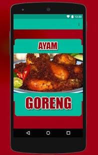 Resep Ayam Goreng Nikmat - náhled