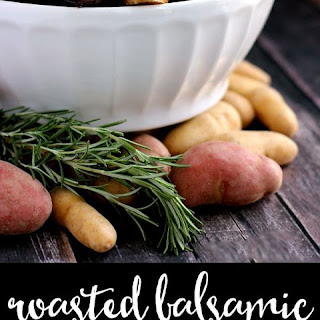 Roasted Balsamic Rosemary Potato Salad