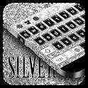 Silver Keyboard icon