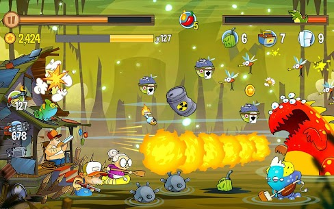 Swamp Attack MOD APK 4.0.6.94 [Unlimited Money] 10