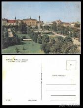 Photo: Satu Mare, Piata Libertatii - dupa 1945 - din  colectia lui Remus Jercau