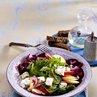Beet, Apple and Gorgonzola Salad
