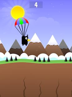 Parachute-Bird