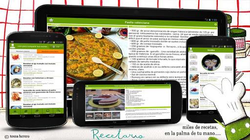 Recetario, recetas de cocina 6.4.4 screenshots 1