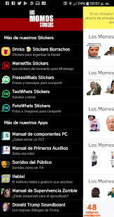 Los Momos - Stickers para Whatsapp Screenshot