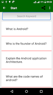 Android Interview Questions - náhled