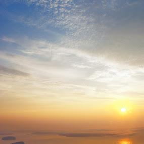 Cadilac Mountain by Jeff Dugan - Landscapes Sunsets & Sunrises ( inspiring, moutaintop, maine, sunrise, landscapes )