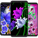 Glowing Flowers  Wallpaper 2020 icon