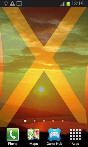 Jamaica Flag Live Wallpaper
