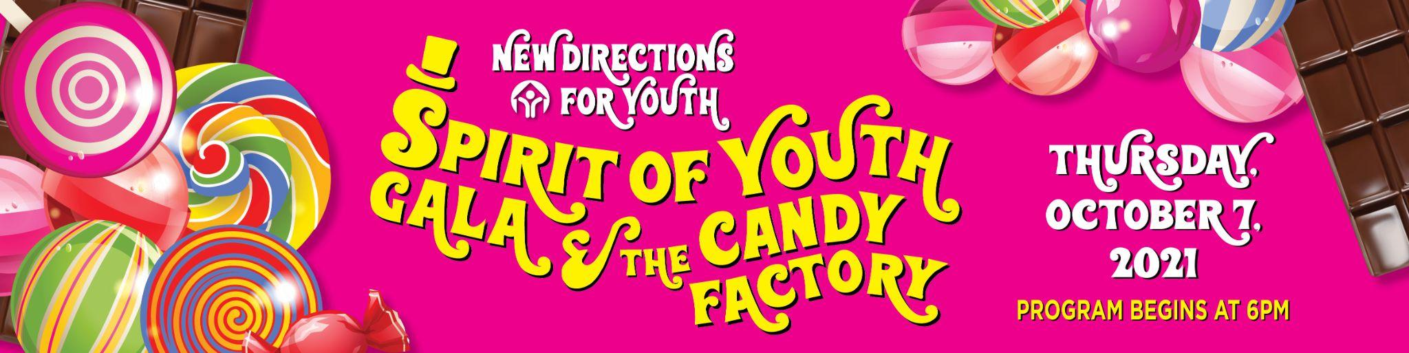New Direction for Youth flyer