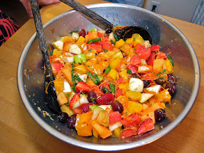 Photo: northern-style hot-and-sour mixed fruit salad