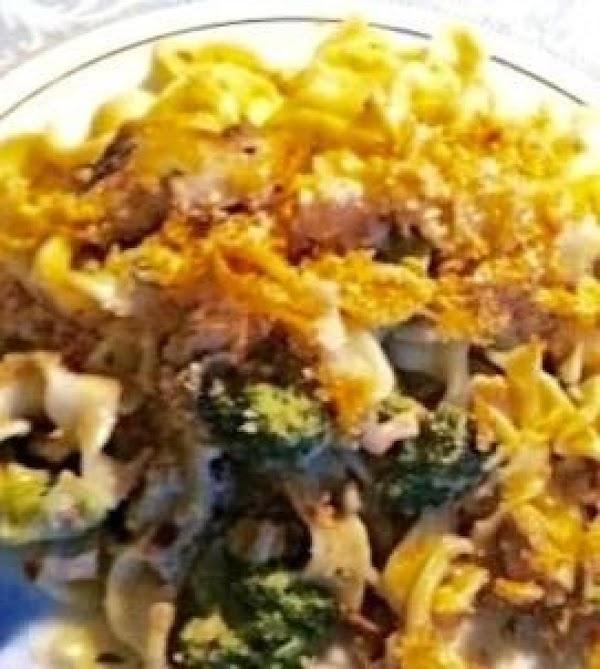 Low Fat Tuna Casserole With Broccoli,and Cheese Recipe