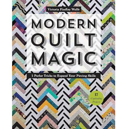 Modern Quilt Magic, signerad (16214)