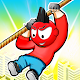 Rope Zipline Rescue - Rope Puzzle Game APK