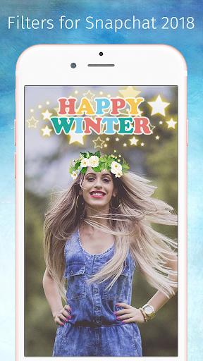 Filters for Snapchat 2018 1.0.1 screenshots 2