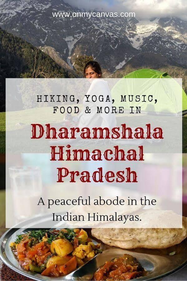 dharamshala travel guide pinterest image