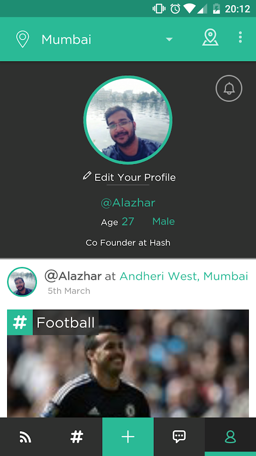 HASH - Local Social Network- screenshot
