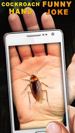 手蟑螂有趣的笑話