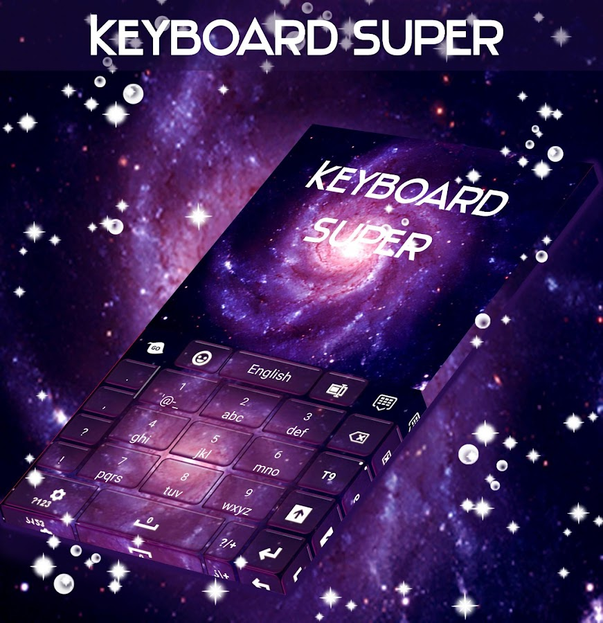 Super Galaxy Keyboard- screenshot