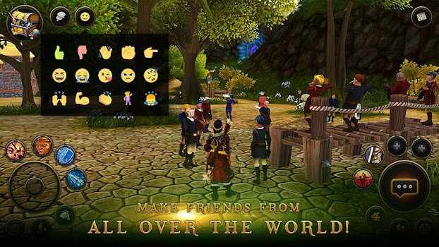 3D MMO Villagers and Heroes