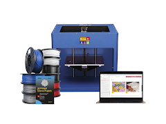 Craftbot 3D Printer Educational Bundle - Blue CraftBot PLUS