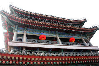 Photo: Day 188 -  The End of the Gate Tower at East Gate on Old City Wall in Xi'an (China)