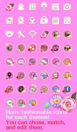 Cute Theme-Flowery Princess- 1.0.0 Windows u7528 4