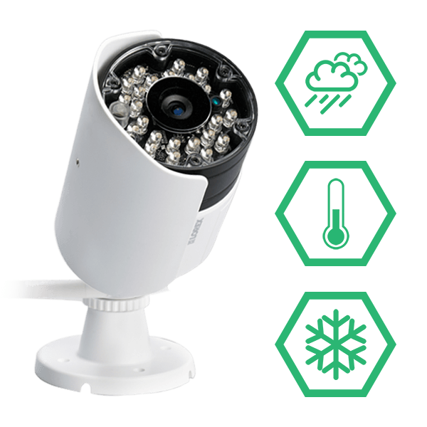 wireless IP66 weatherproof & vandal resistant security cameras