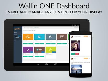 Wallin ONE - Digital Signage - náhled