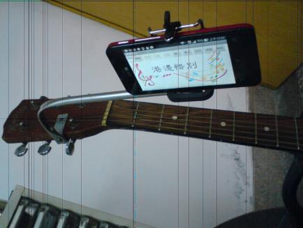 行動歌譜 歸人沙城 ,讓你隨時可以唱歌或彈奏樂器。