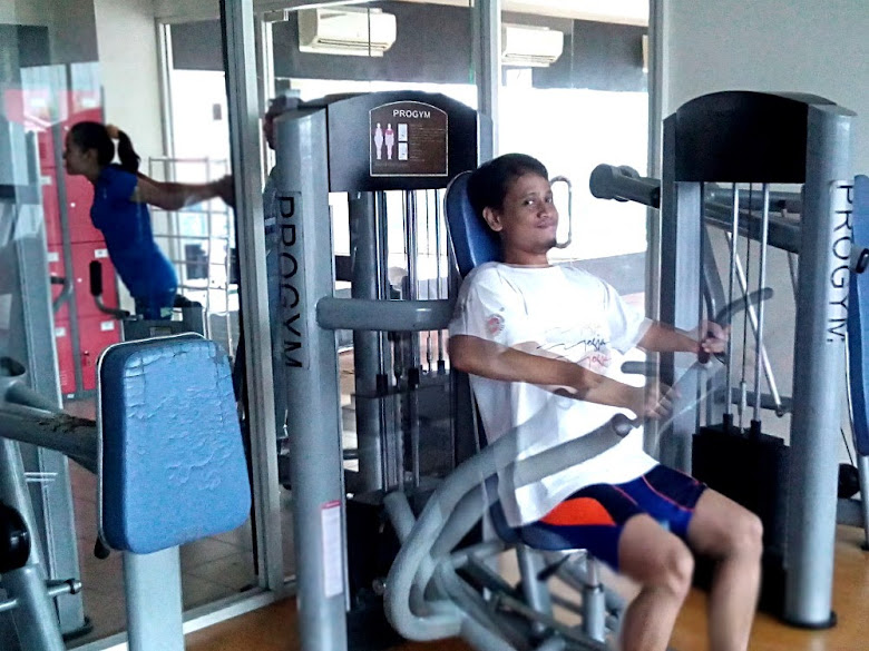 Gym: on 1st floor in High Point Serviced Apartment