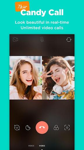 Candy Camera - selfie, beauty camera, photo editor 4.47 screenshots 1