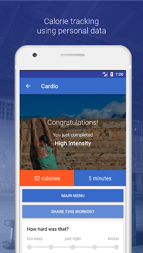 HIIT & Cardio Workout by Fitify  screenshots 4