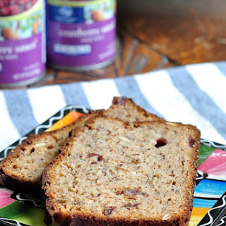 Double Almond Cranberry Spelt Bread