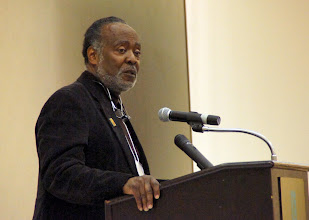 Photo: Josh Williams, President of the Metropolitan Washington DC Labor Council