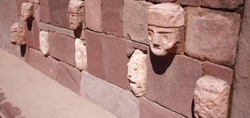 cabezas líticas | TOUR TIAHUANACO