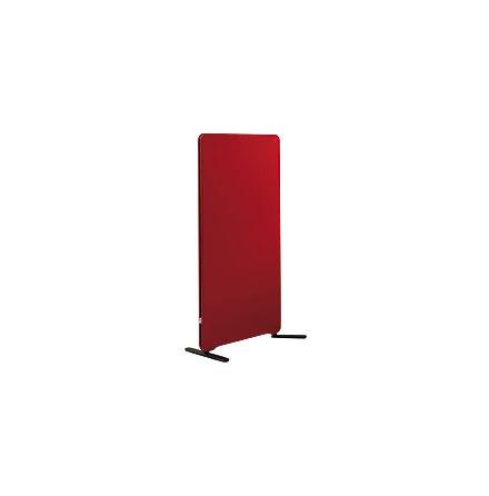 Golvskärm Edge 800x1350mm  röd
