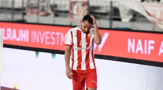 Joao Carvalho no se queda en el Almería.